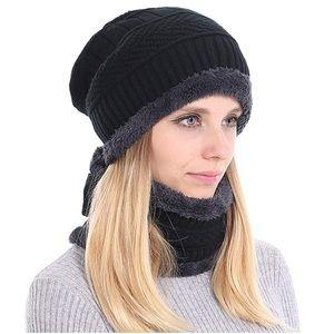 Winter Hat Scarf Gloves Set for Women (Unisex)